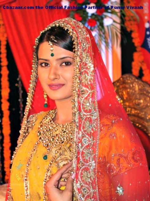 kratika-sengar-at-zee-tv-punar-vivah-serial